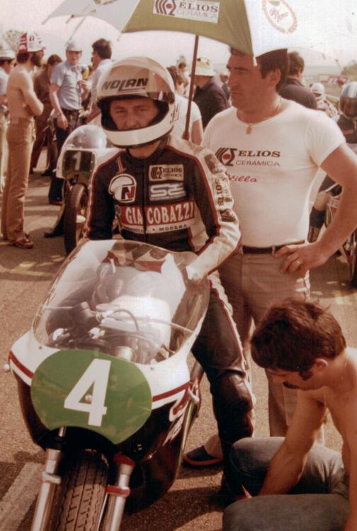 Team Nolan - Harley Davidson - Walter Villa e Sante Bortolamasi